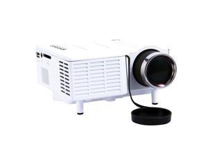 Mini Portable LCD LED Proyector Projector PC Laptop VGA/USB HD 1080P USB HDMI