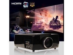 3000 Lumens HD 1080P LED Projector Home Movie Theater 3D VIEW VGA USB HDMI TV