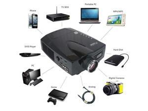 LCD HDMI Projector VVME HTPCD-V01 1080P Home Theater ON SALES 3D