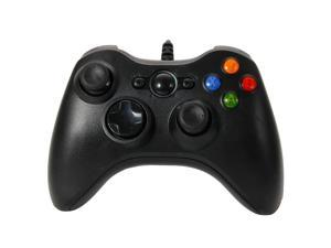 USB Wired Joypad Controller Like Xbox 360 for PC Game Window 7 Black