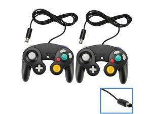 2X Wired Shock Game Controller Joypad Pad for Nintendo Gamecube GC WII