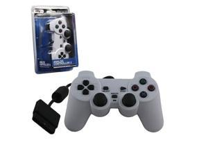 WHITE PS2 ControllerDual Vibration Gamepad