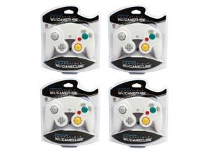 Set of 4 Controllers for Nintendo GameCube / Wii - WHITE