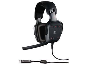 Logitech G35 USB Connector Circumaural Surround Sound Headset