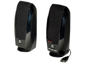 Logitech S150 USB Speakers with Digital Sound Standard Packaging