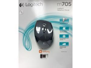 Logitech M705 Black 1 x Wheel USB RF Wireless Laser Marathon Mouse