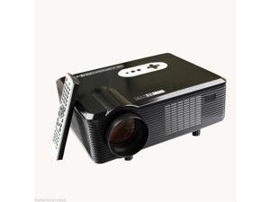 260'' Multimedia 3000 Lumens HD LED Projector Home Theater TV/HDMI 1080P 3D