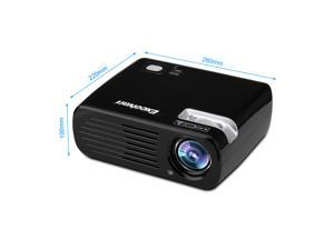 HD 1080P LED LCD Projector Multimedia Home Cinema Theater 3D USB/AV/HDMI/ATV/VGA