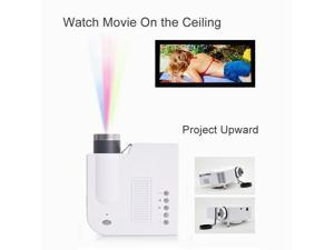 HD 1080P LED Multimedia Mini Projector Home Theater Cinema AV TV VGA HDMI USB