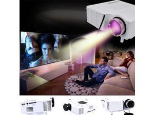 Home Theater Multimedia LED LCD Proyector Projector HD 1080P PC AV VGA USB HDMI