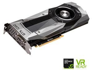 EVGA GeForce GTX 1080 Founders Edition, 08G-P4-6180-KR, 8GB GDDR5X, LED, DX12 OSD Support (PXOC) Video Graphics Card