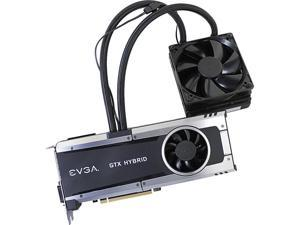 "EVGA GeForce GTX 980 Ti 06G-P4-1996-KR 6GB HYBRID GAMING, ""All in One"" No Hassle Water Cooling, Just Plug and Play Video Graphics Card"