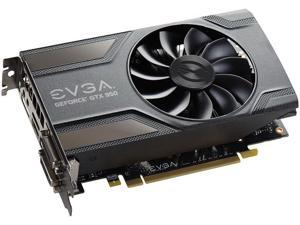 EVGA GeForce GTX 950 DirectX 12 02G-P4-1954-KR 2GB 128-Bit GDDR5 PCI Express 3.0 x16 SLI Support GAMING Video Graphics Card