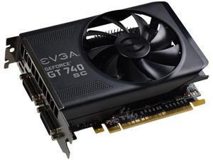EVGA GeForce GT 740 2GB 02G-P4-3747-KR 128-Bit GDDR5 PCI Express 3.0 x16 Video Graphics Card