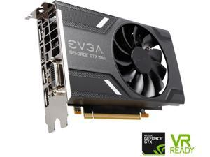 EVGA GeForce GTX 1060 6GB GAMING ACX 2.0 (Single Fan) GDDR5 DX12 OSD Support 06G-P4-6161-KR Video Graphics Card