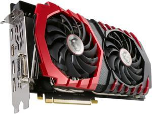 MSI GeForce GTX 1080 8GB DirectX 12 256-Bit GDDR5X PCI Express 3.0 x16 HDCP Ready SLI Support ATX GTX 1080 GAMING X 8G Video Graphics Card