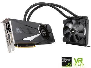 MSI GeForce GTX 1080 8GB DirectX 12 256-Bit GDDR5X PCI Express 3.0 x16 HDCP Ready SLI Support ATX GTX 1080 SEA HAWK X Video Graphics Card