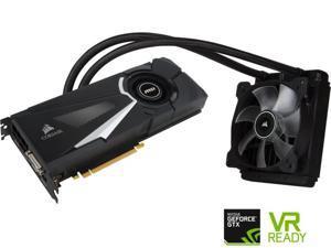 MSI GeForce GTX 1070 8GB DirectX 12 GTX 1070 SEA HAWK 256-Bit GDDR5 PCI Express 3.0 x16 HDCP Ready SLI Support ATX Video Graphics Card