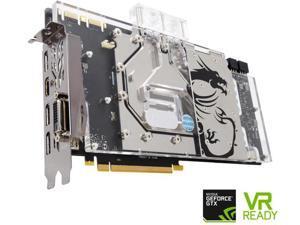 MSI GeForce GTX 1070 8GB DirectX 12 GTX 1070 SEA HAWK EK X 256-Bit DDR5 PCI Express 3.0 x16 HDCP Ready SLI Support ATX Video Graphics Card
