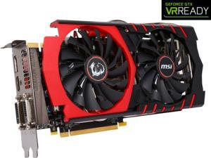 MSI GeForce GTX 970 GAMING 4G 4GB Video Graphics Card