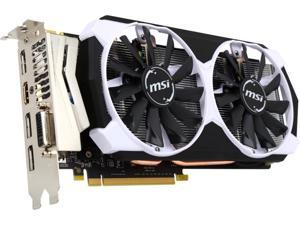 MSI GeForce GTX 960 4GB DirectX 12 GTX 960 4GD5T OC 128-Bit GDDR5 PCI Express 3.0 HDCP Ready SLI Support ATX Video Graphics Card