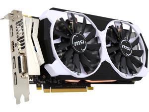 MSI GeForce GTX 960 4GB DirectX 12 GTX 960 4GD5T OC 128-Bit GDDR5 PCI Express 3.0 HDCP Ready SLI Support ATX Video Graphics Card