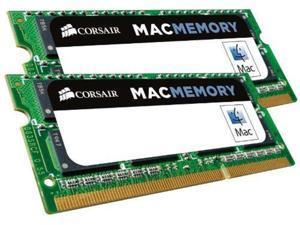 Corsair  SDRAM Memory Module 16 GB (2 * 8 GB) DDR3 SDRAM 1333 MHz DDR3-1333/PC3 10600 Non-ECC Unbuffered 204 pin SoDIMM