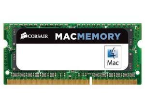 Corsair 16gb 2x 8gb Ddr3 204-pin DDR3-1600/PC3-12800 Non-ECC 1.35 V CL11 Mac
