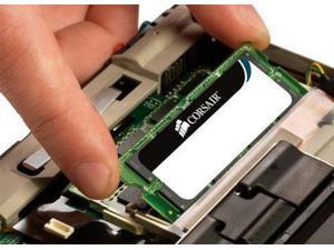 Corsair ValueSelect DDR3 SDRAM Memory Module 16 GB (2 * 8 GB) DDR3 SDRAM 1333 MHz DDR3-1333/PC3-10600 Non-ECC Unbuffered 204-pin SoDIMM