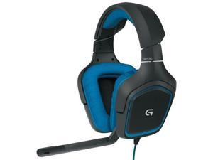 LOGITECH G430 981-000536 Dolby 7.1 surround sound Gaming Headset 40mm 32 ohm USB Black / Blue