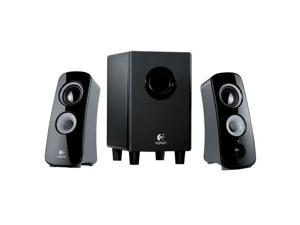 Logitech Z323 Speaker System with Subwoofer Black (980-000354) 2.1