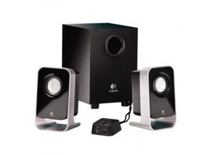 Logitech 2.1 Stereo Speaker System LS21 Wired Black