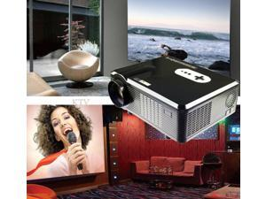260'' Multimedia 3000 Lumens HD LED Projector Home Theater TV/HDMI 1080P 3D OBY