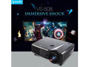 6000 Lumens HD 1080P WXGA (1280x800) 3D LCD LED Home Cinema Theater Projector OY
