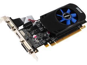 MSI Radeon R7 240 2GB DirectX 12 128-Bit DDR3 PCI Express 3.0 x16 HDCP Ready CrossFireX Support Low Profile R7 240 2GD3 LPV6 Video Graphics Card