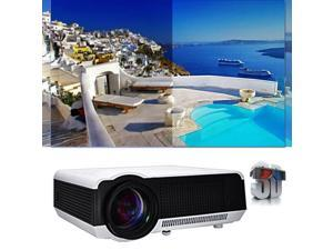 5000LM WIFI Ultra HD 1080P 3D Ready Home Theater Projector 50000 Hours