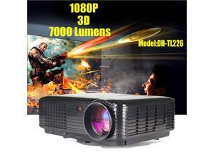7000Lumens HD Home Theater Cinema Projector 1080P LCD/LED Projector Projection 4