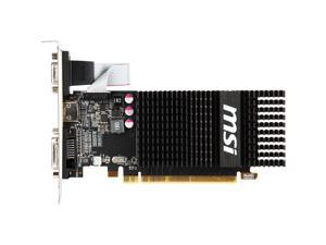 MSI Radeon R5 230 2GB DirectX 11 64-Bit GDDR3 PCI Express 2.1 x16 HDCP Ready CrossFireX Support Low Profile R5 230 2GD3H LP Video Graphics Card