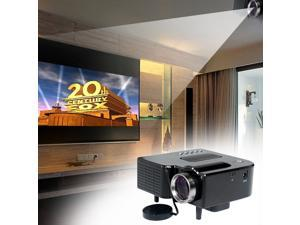 HD 1080P Home Cinema Theater Multimedia PC AV TV USB LED Projector VGA HDMI BY