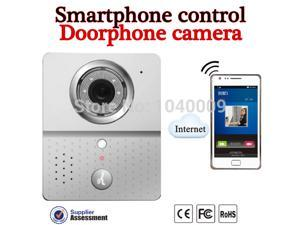 2015New Hot Wifi Doorbell Camera Wireless  Intercom Mobile Smart Phone Control IP Door Phone Wireless Door Peephole Viewer Phone Video