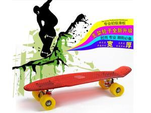 22 inch/27 inch Pc Transparent Board Skateboard Mini Cruiser Longboard Skates 4 colors