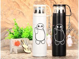 New  500ml Thermos Cup Stainless Steel Insulated Mug Thermo Cup Auto Car Heating Cups Thermo Mugs Vacuum Flask Hot Kids Water Bottle