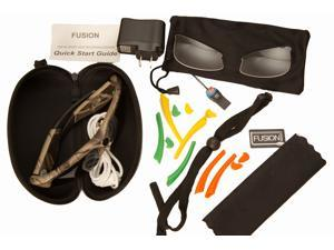 Sport Camo 720p HD Video Glasses and Accessories: 5 mega pixel, 140 degree for wide scope digital recording.Quality polarized lens block out 100% of UVA, UVB, UVC and blue light to 400nm protection.