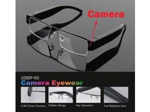 Trieck 1080P 5MP HD Digital Video Spy Hidden Camera Glasses Cam Eyewear DVR Camcorder