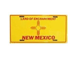 New Mexico State Flag Aluminum License Plate - SB-LP526