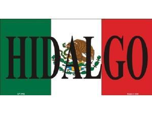 HIDALGO MEXICO Background Aluminum License Plate - SB-LP3442