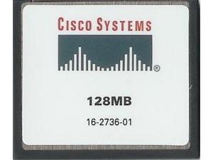 Cisco Approved MEM1800-128CF - 128mb Flash Memory for Cisco 1800 Series