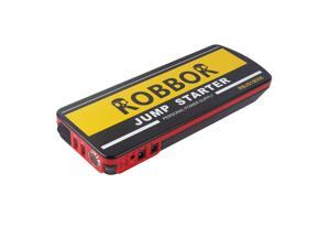 ROBBOR 18000mAh Compact Car Jump Starter and Portable Charger Power Bank with 600A Peak Current, Advanced Safety ...