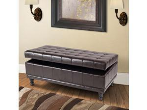 Sanford Upholstered Storage Entryway Bench