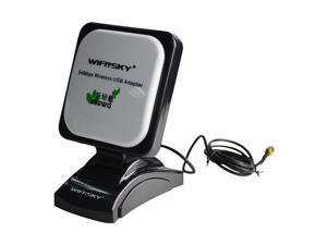 WIFISKY WS-G6100 High Power Wireless USB Adapter, 802.11g 54Mbps Realtek RTL8187L Long Range Wifi Adapter